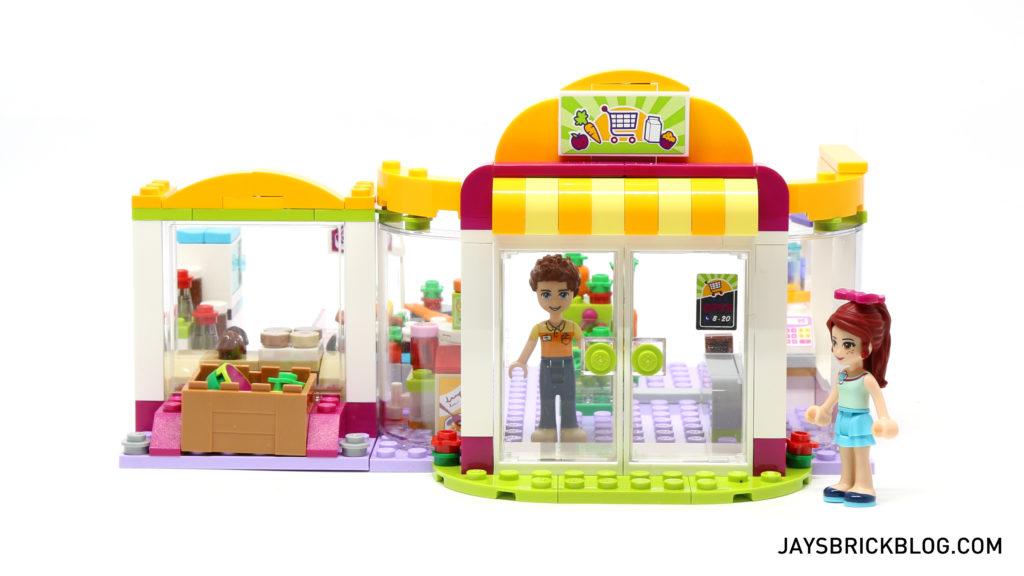 LEGO 41118 Heartlake Supermarket - Shopfront