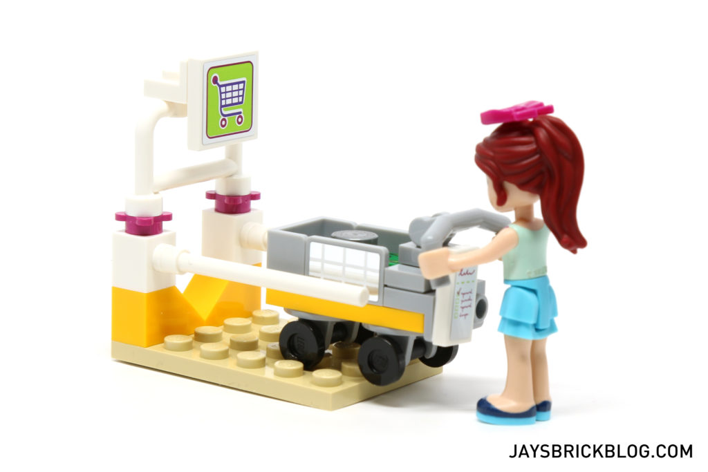LEGO 41118 Heartlake Supermarket - Trolley Dock