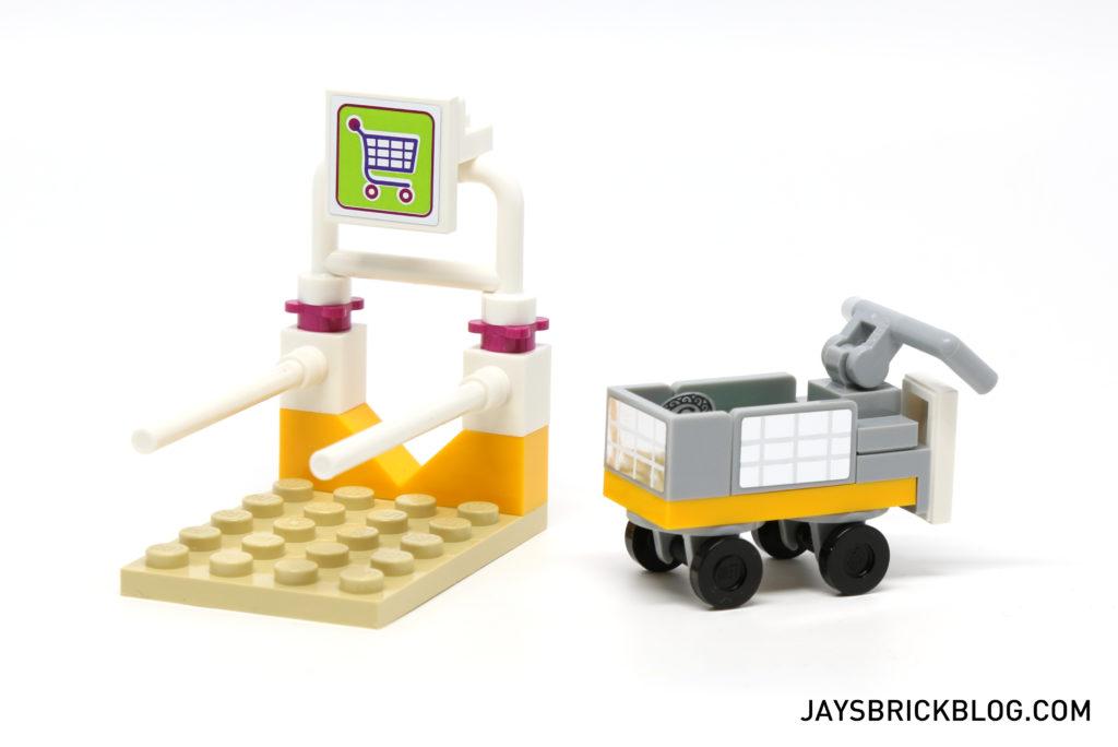 LEGO 41118 Heartlake Supermarket - Trolley Park
