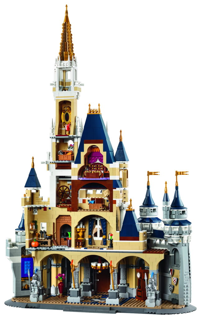 LEGO 71040 Disney Castle - Back View