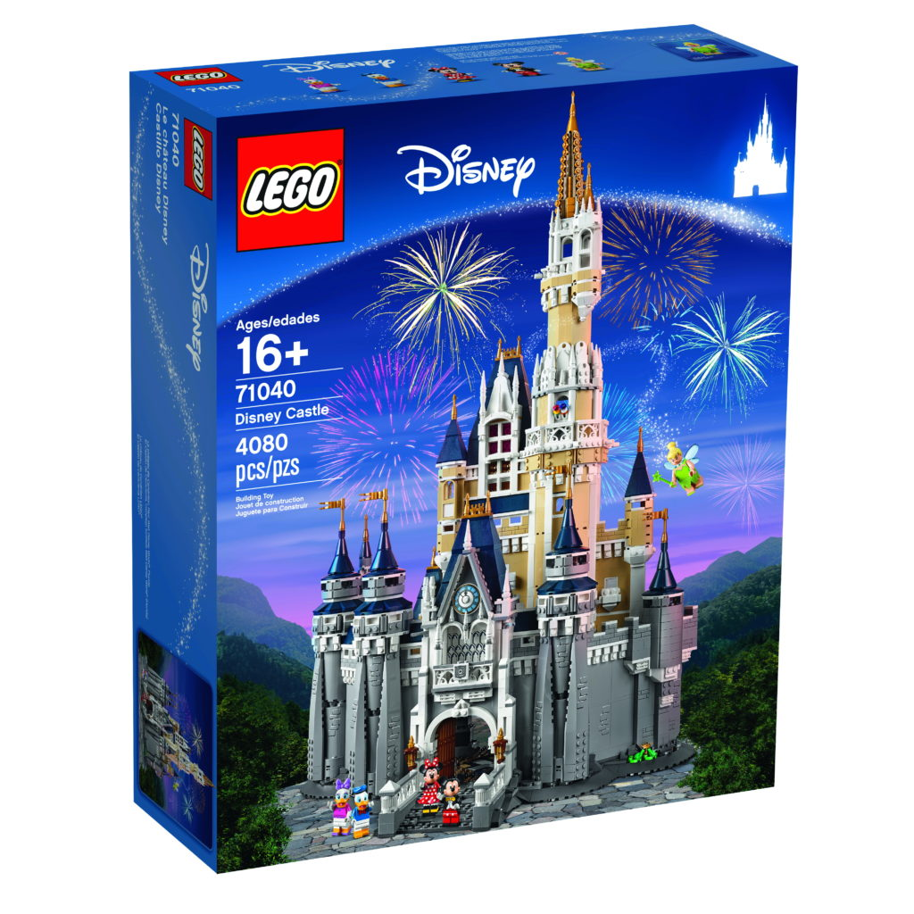 LEGO 71040 Disney Castle - Box