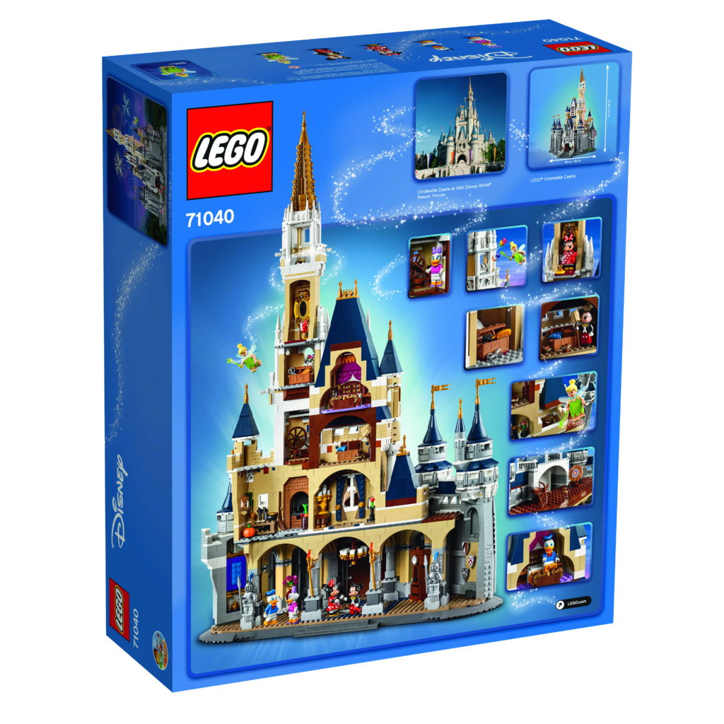 LEGO 71040 Disney Castle - Box Back