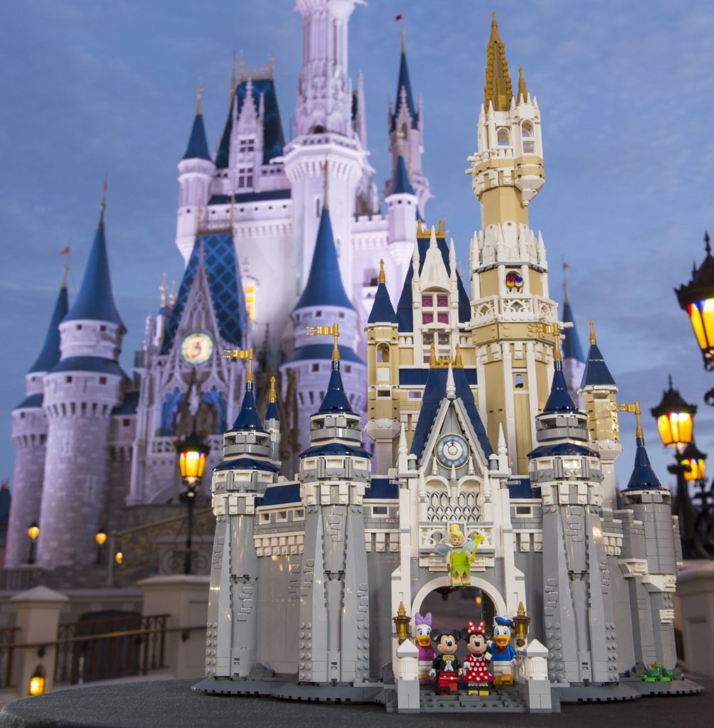 Behold, the magnificent LEGO 71040 Disney Castle