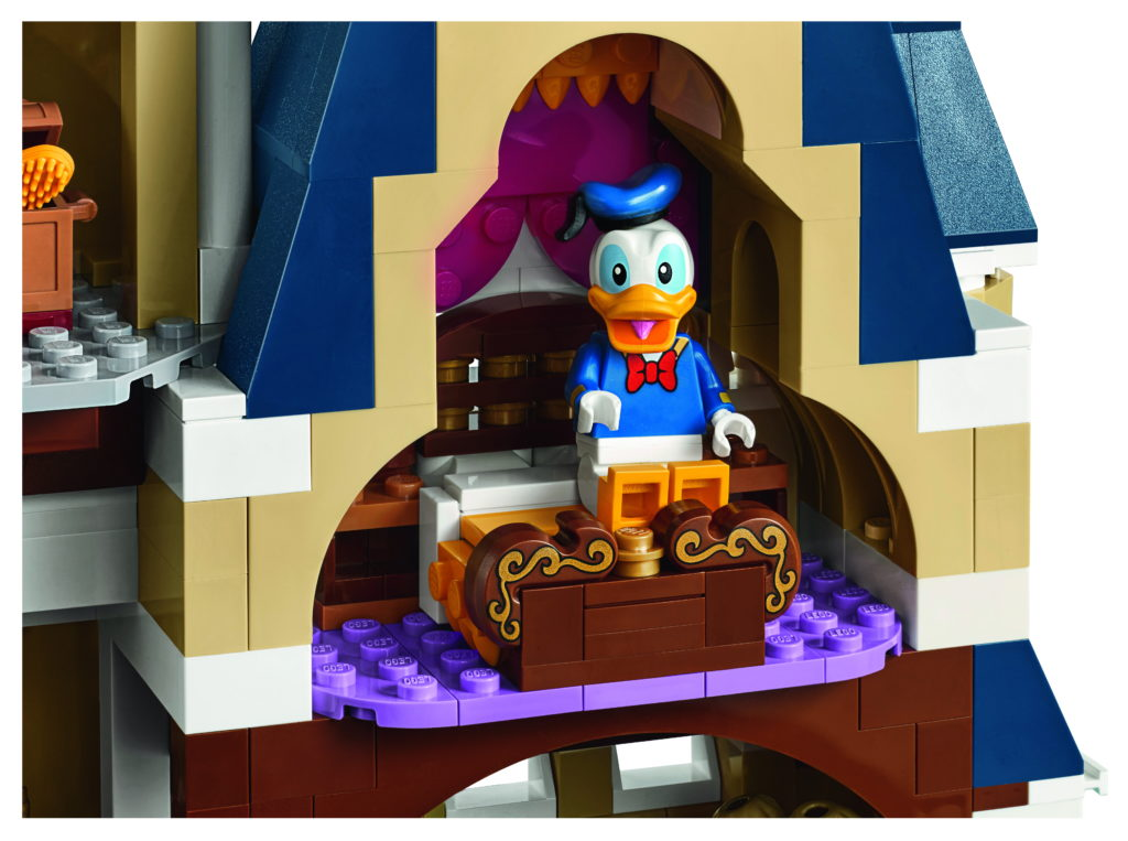 LEGO 71040 Disney Castle - Donald Duck Room