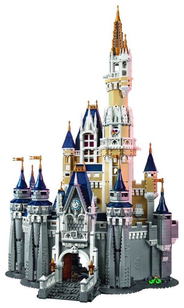 LEGO 71040 Disney Castle - Front