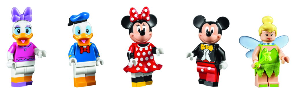 LEGO 71040 Disney Castle - Minifigures