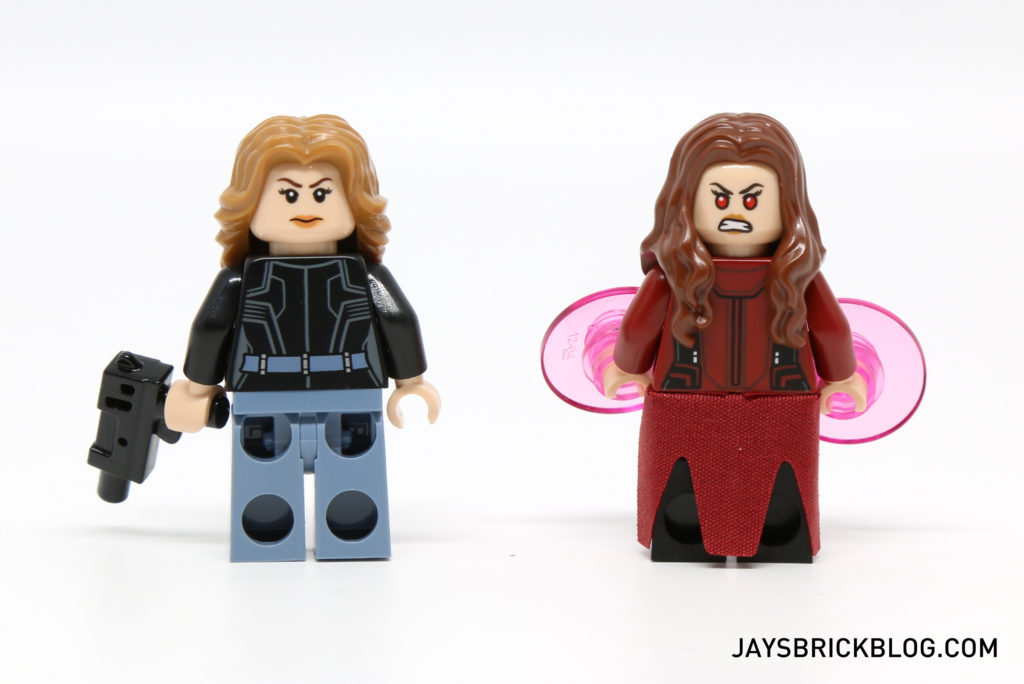 LEGO 76051 Super Hero Airport Battle - Agent 13 & Scarlet Witch Back