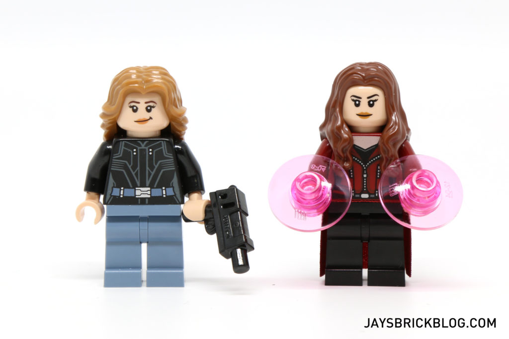 LEGO 76051 Super Hero Airport Battle - Agent 13 & Scarlet Witch Minifigures