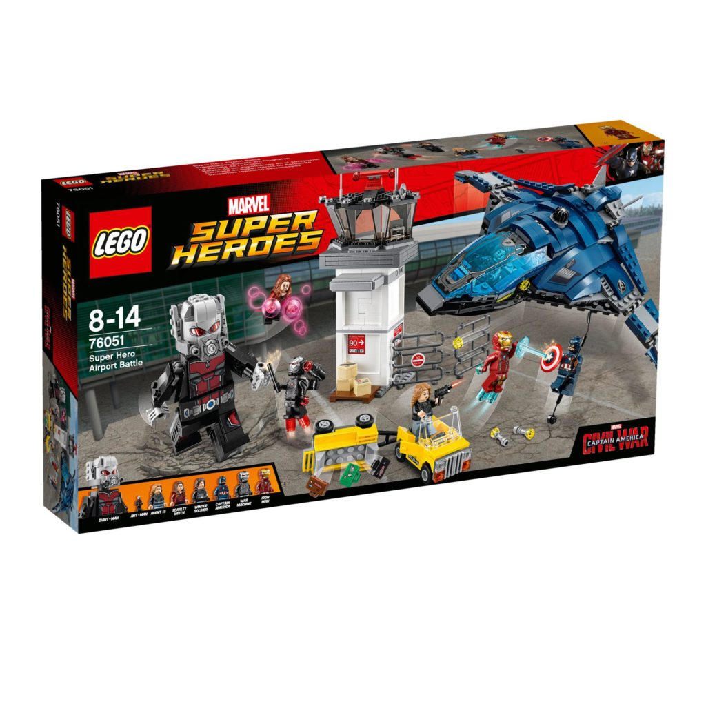 LEGO 76051 Super Hero Airport Battle - Box