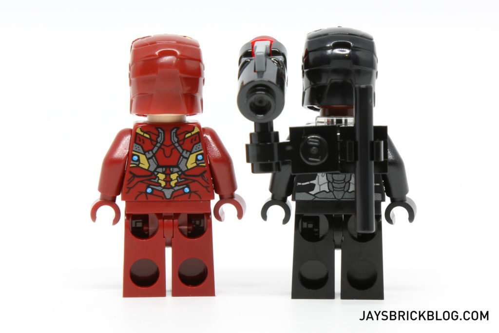 LEGO 76051 Super Hero Airport Battle - Iron Man & War Machine Back