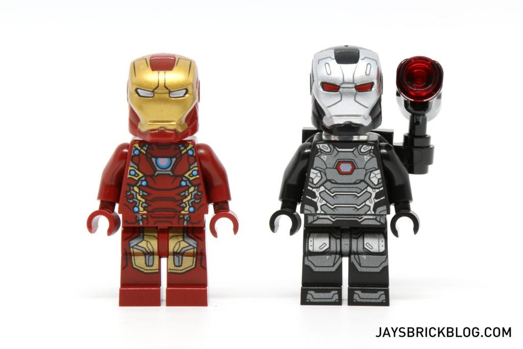 LEGO 76051 Super Hero Airport Battle - Iron Man & War Machine Minifigs