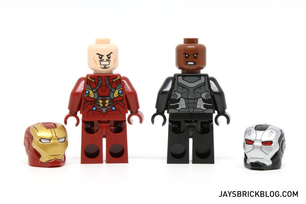 LEGO 76051 Super Hero Airport Battle - Iron Man & War Machine unmasked