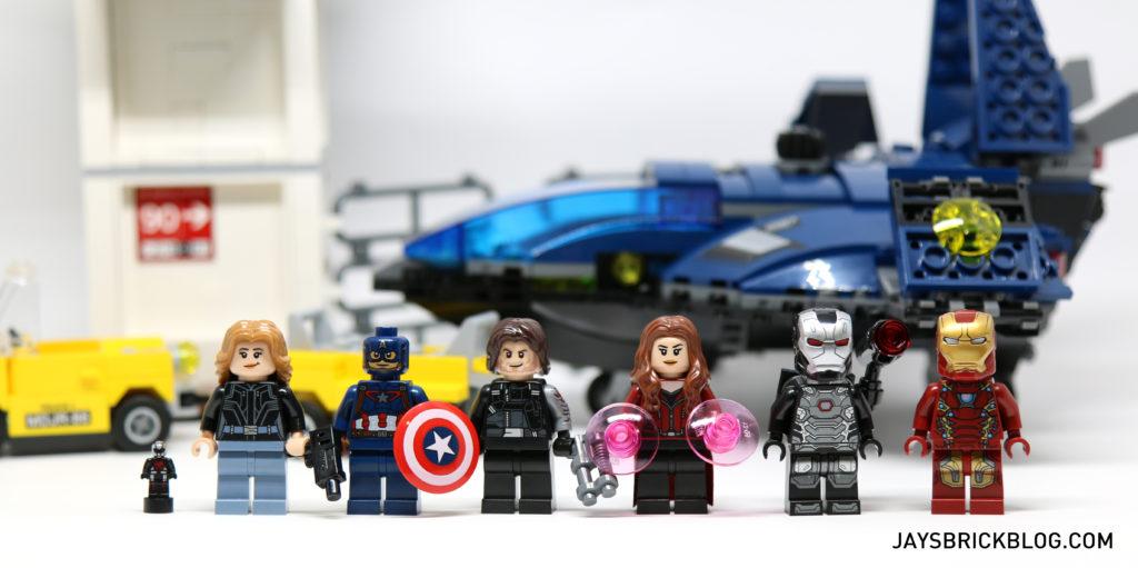 LEGO 76051 Super Hero Airport Battle - Minifigures