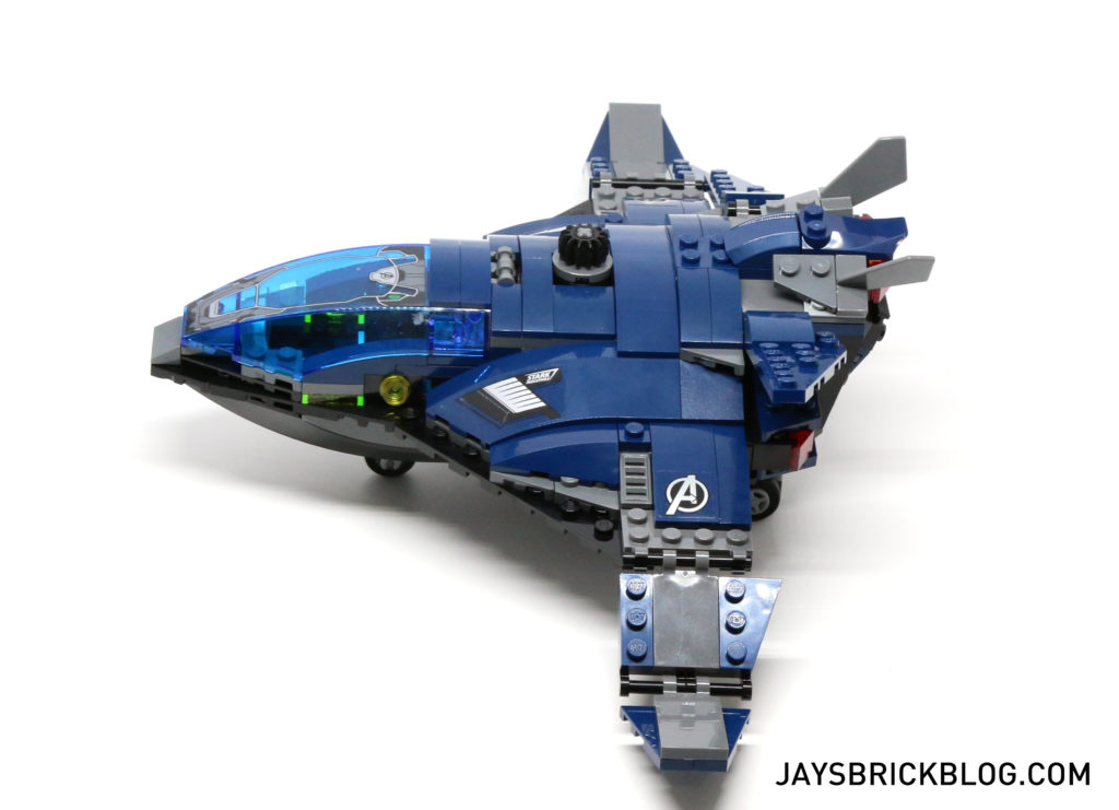 LEGO 76051 Super Hero Airport Battle - Quinjet Side