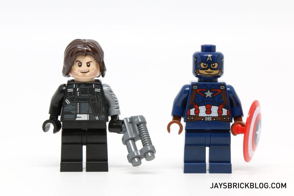 LEGO 76051 Super Hero Airport Battle - Winter Soldier & Captain America Minifigures
