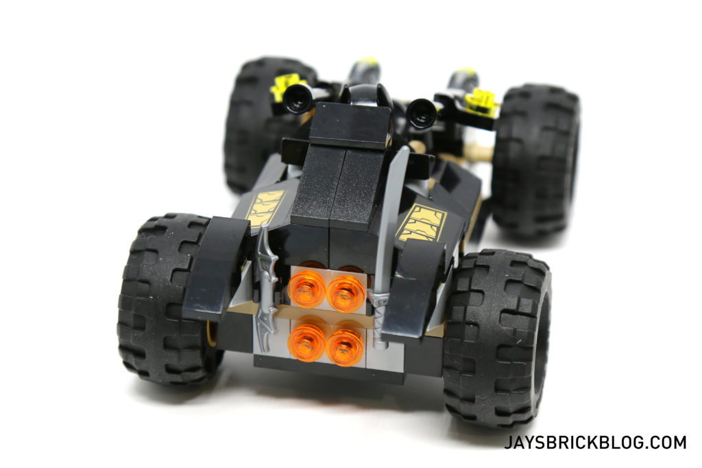 LEGO 76056 Rescue from Ra's Al Ghul - Bat Buggy Back