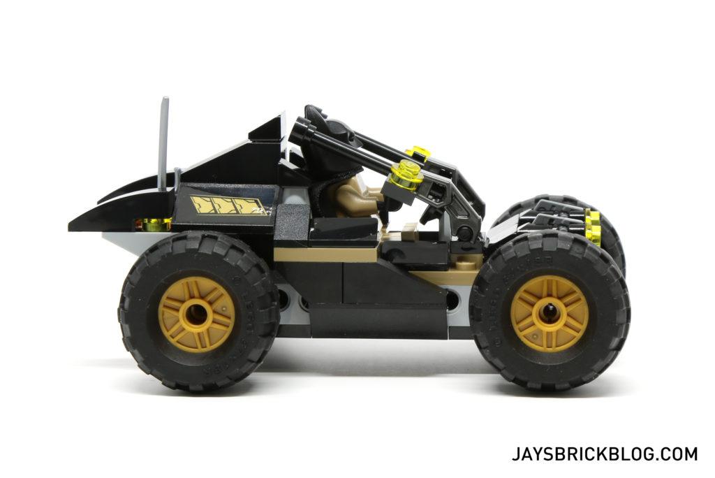 LEGO 76056 Rescue from Ra's Al Ghul - Bat Buggy Side