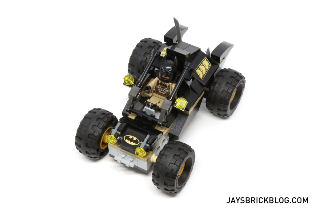 LEGO 76056 Rescue from Ra's Al Ghul - Bat Buggy Top View