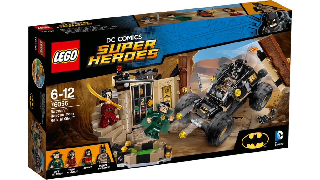 LEGO 76056 Rescue from Ra's Al Ghul - Box