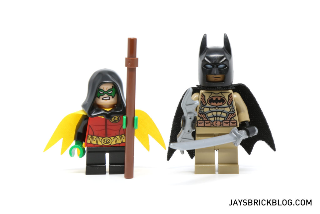 LEGO 76056 Rescue from Ra's Al Ghul - Desert Batman and Robin Minifigures