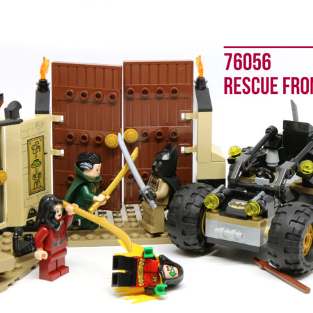 LEGO 76056 Rescue from Ra's Al Ghul - Feature Photo