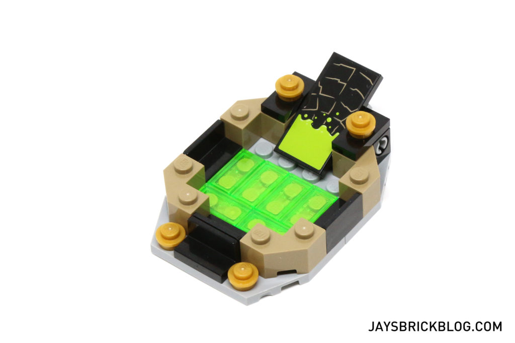 LEGO 76056 Rescue from Ra's Al Ghul - Lazarus Pit