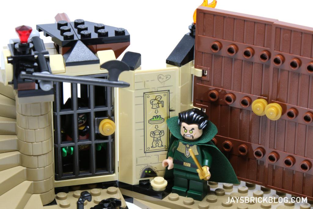 LEGO 76056 Rescue from Ra's Al Ghul - Lazarus Pit Poster