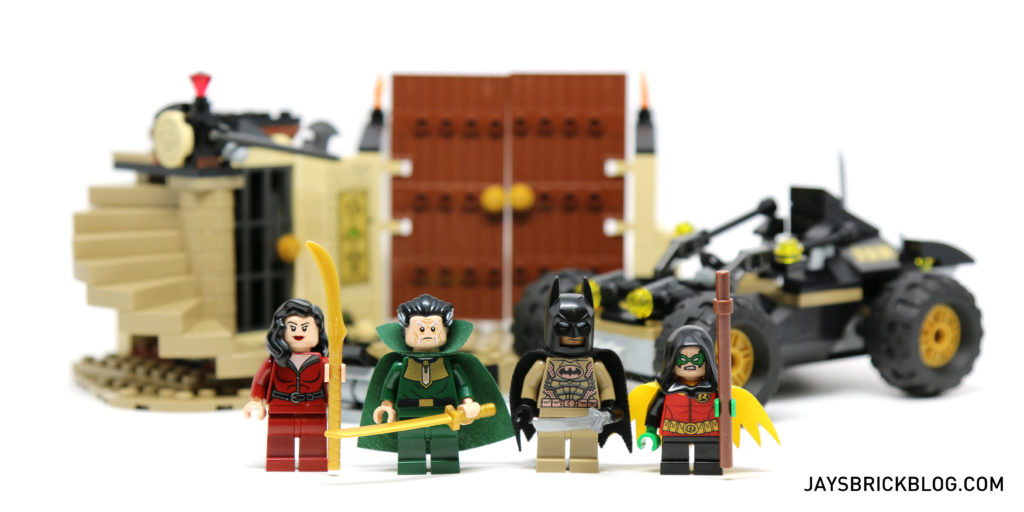 LEGO 76056 Rescue from Ra's Al Ghul - Minifigures