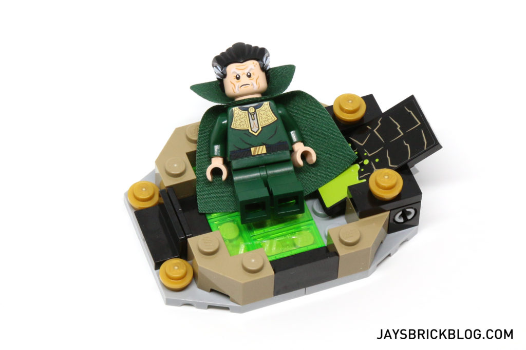 LEGO 76056 Rescue from Ra's Al Ghul - Ra's Bathing in Lazarus Pit