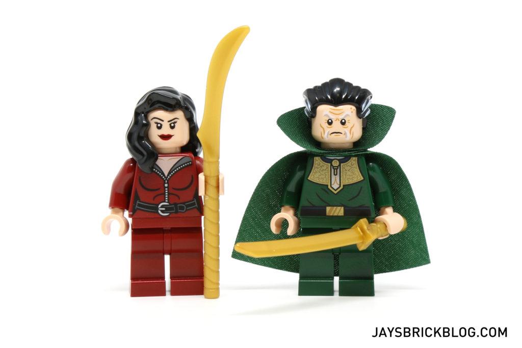 LEGO 76056 Rescue from Ra's Al Ghul - Thalia al Ghul and Ra's al Ghul Minifigures