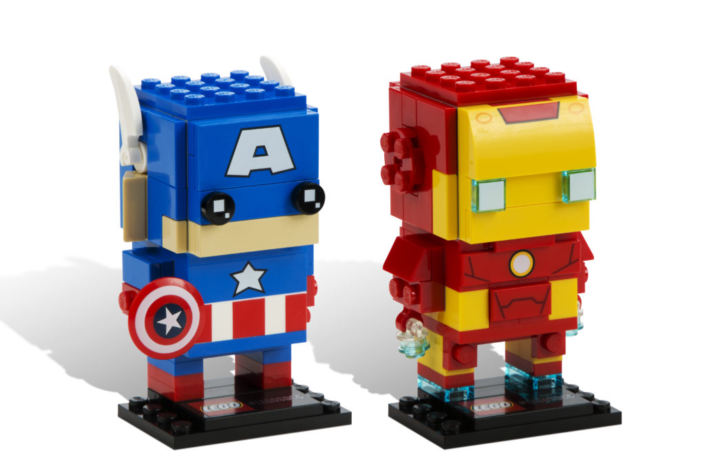 LEGO Brickheadz - Captain America and Iron Man
