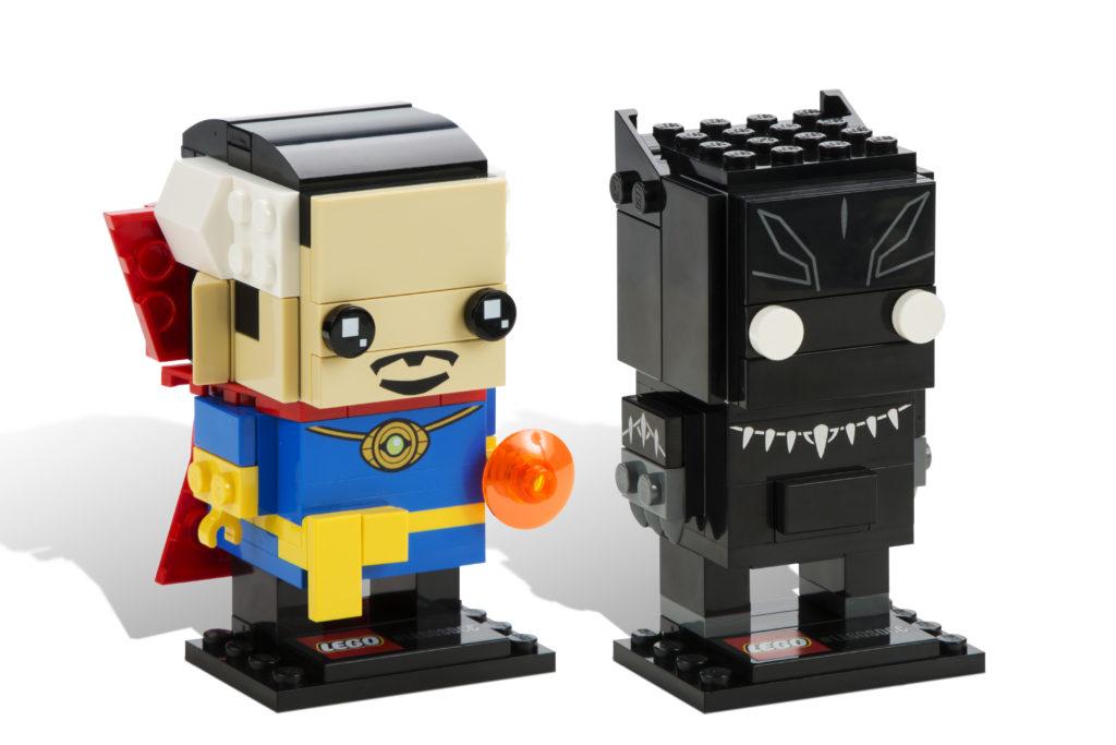 LEGO Brickheadz - Doctor Strange and Black Panther