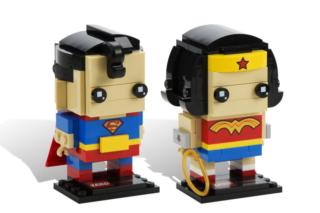 LEGO Brickheadz - Superman and Wonder Woman