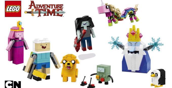 The brick-built LEGO Ideas 21308 Adventure Time is mathematical!