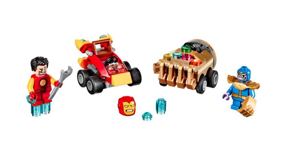LEGO Marvel Mighty Micros Series 2 - Iron Man & Thanos