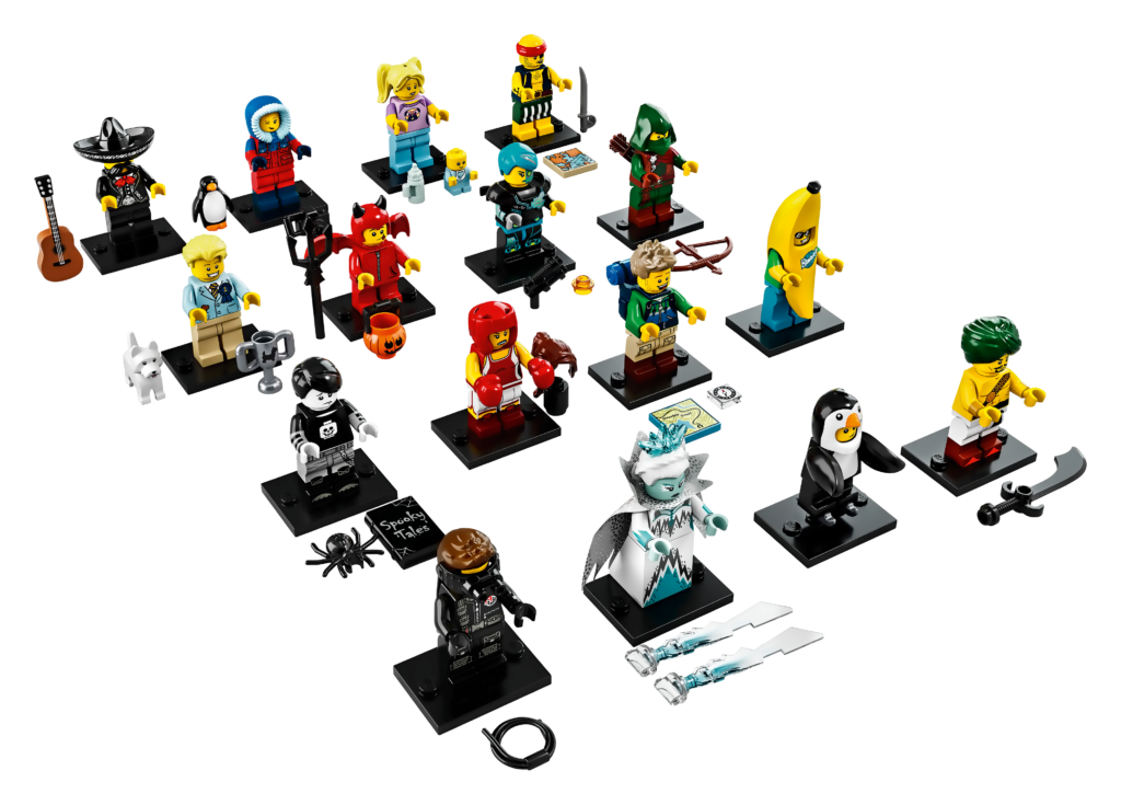LEGO Minifigures Series 16 - All Characters