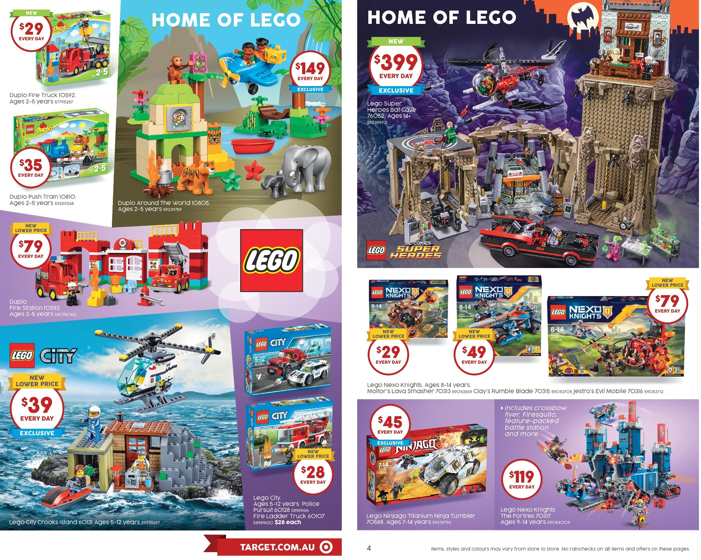 Target Toy Sale Australia : Australian lego sales july