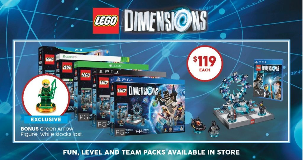 Target Toy Event Sale July 2016 - LEGO Dimensions Green Arrow