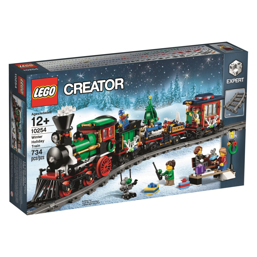 LEGO 10254 Winter Holiday Train - Box