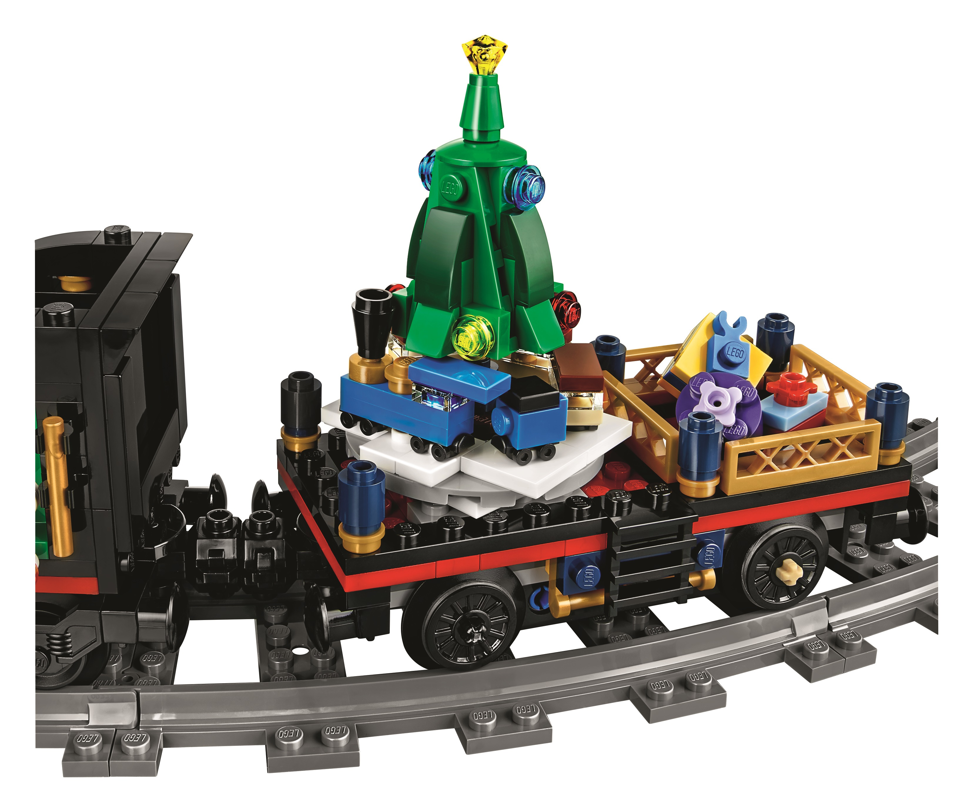 Lego Christmas Train.Christmas Comes Early With The Lego 10254 Winter Holiday