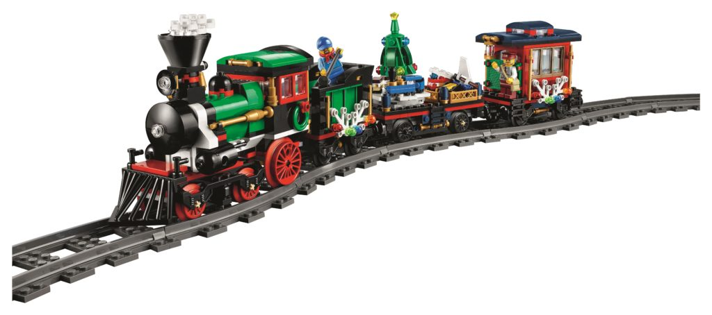 LEGO 10254 Winter Holiday Train - Teain Front View