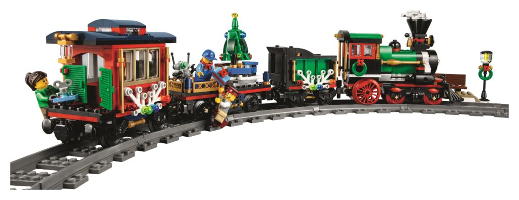 LEGO 10254 Winter Holiday Train - Train Back