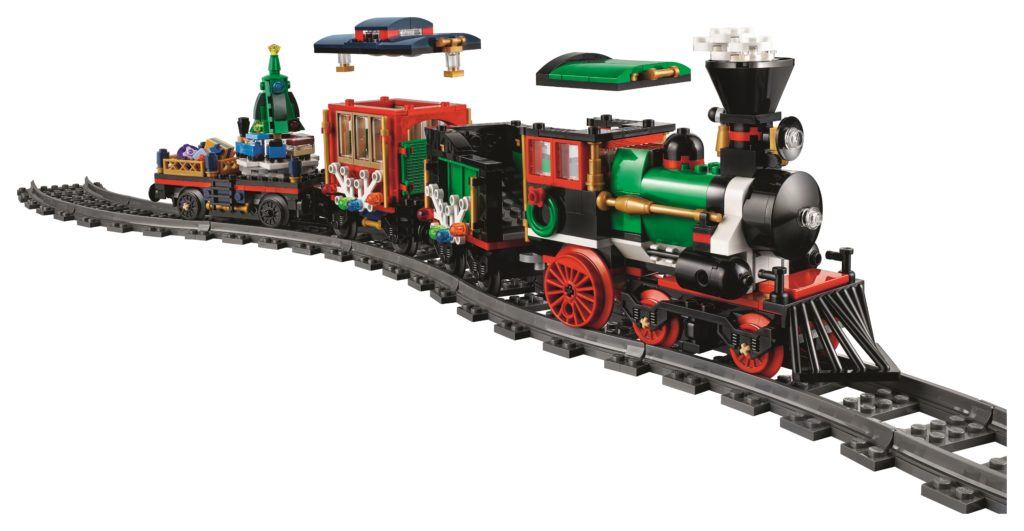 LEGO 10254 Winter Holiday Train - Train Locomotive