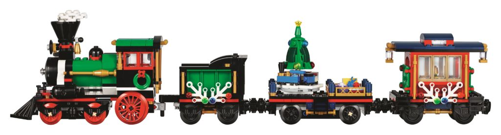 LEGO 10254 Winter Holiday Train - Train Side View