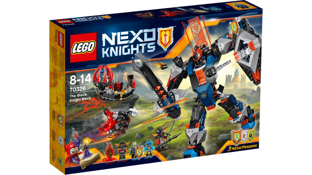 LEGO 70326 The Black Knight Mech