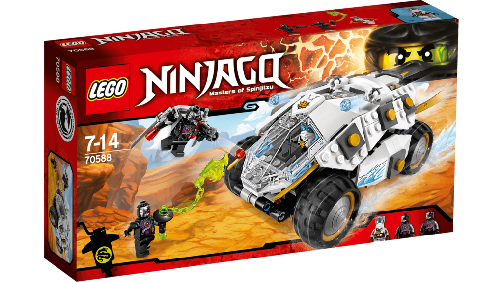 LEGO 70588 Titanium Ninja Tumbler