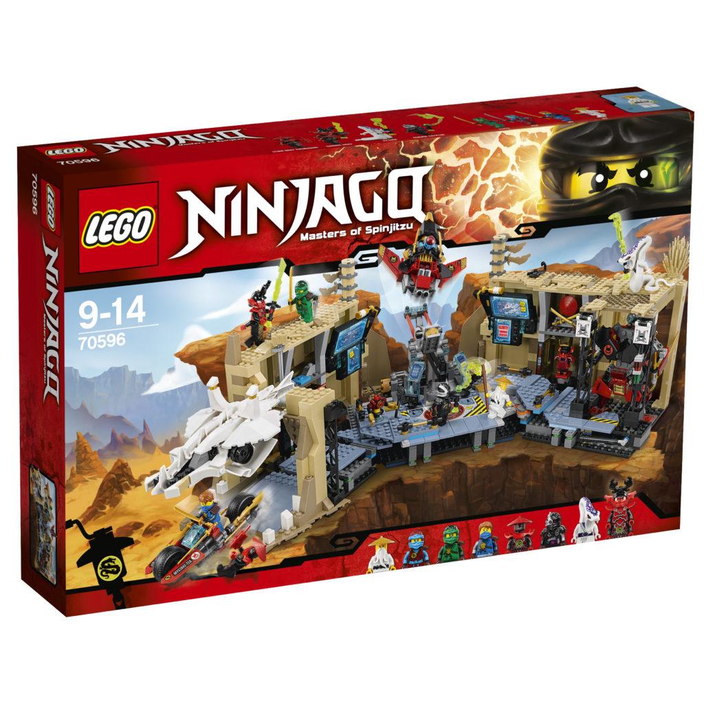 LEGO 70596 Samurai X Cave Chaos Box