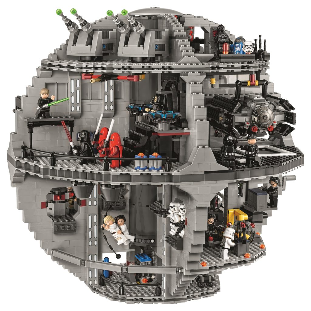 LEGO 75159 UCS Death Star - Back