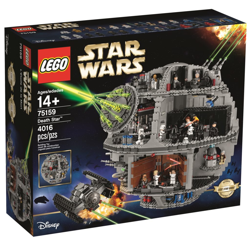 LEGO 75159 UCS Death Star - Box