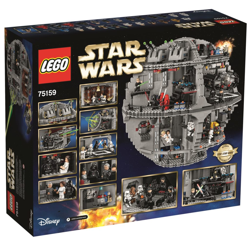 LEGO 75159 UCS Death Star - Box Back